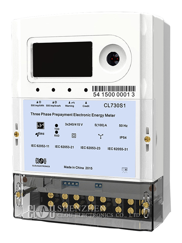 Product Cl730s1 Three Phase Keypad Prepaid Energy Meter
